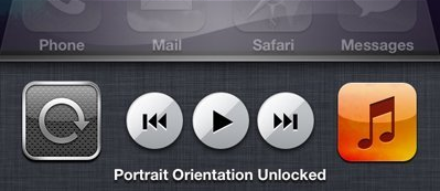 how to change screen orientation on iphone 5