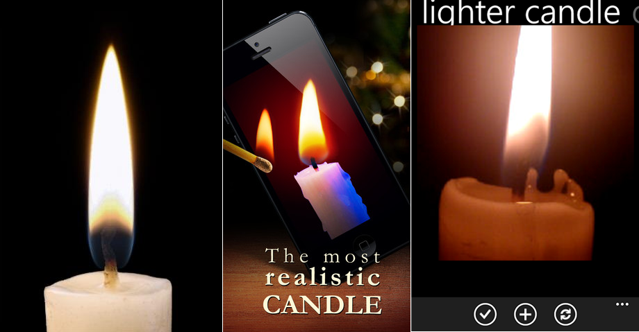 Candle Flame App For Smartphones