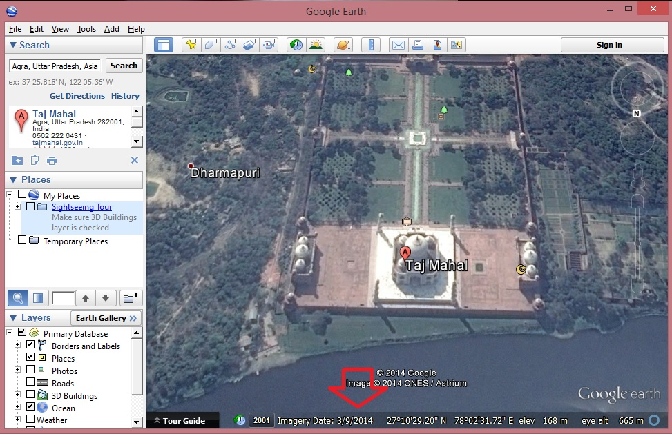 Find When Google Maps Satellite Image Taken Online Inspirations - World satellite map 2014
