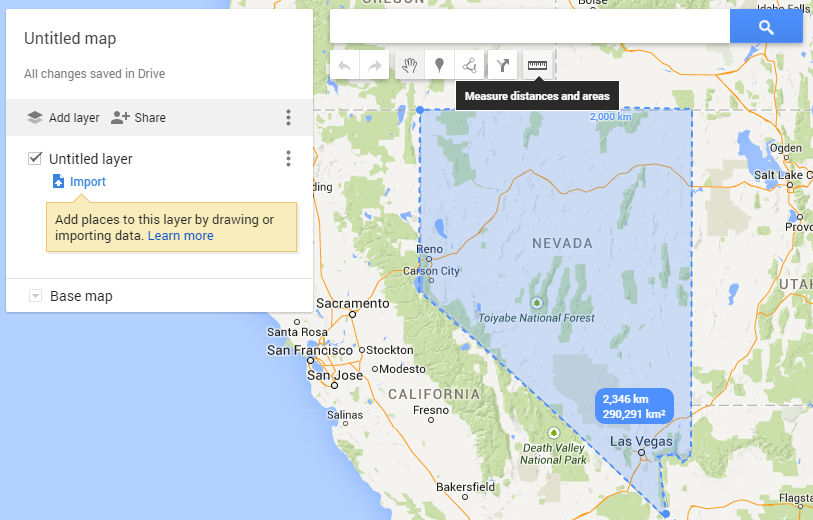 land-area-perimeter-state-of-nevada-us-google-map